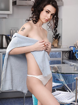 Amour Angels  Frederica  Brunettes, Teens, Skinny, Solo