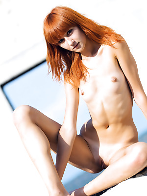 Amour Angels  Avgusta  Outdoor, Tits, Shaved, Breasts, Small tits, Pussy, Red Heads, Boobs, Solo, Skinny, Teens